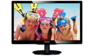 Monitor Philips LED 22'' LED TN WSXGA DVI Czarny