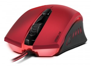 Mysz przewodowa Speed Link LEDOS Gaming Mouse Red-Black