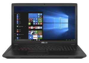 "Laptop Asus FX53V 15.6""FHD i7-7700HQ 8GB HDD1TB GTX1050 Win10Home"