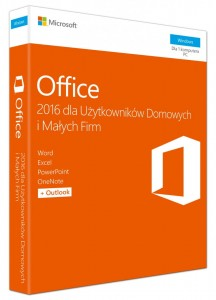 Microsoft Office Home and Business 2016 Win PL EuroZon Mlk